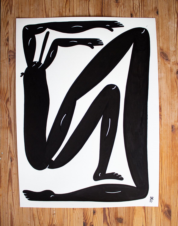tegninger, figurative, illustrative, monokrome, portræt, kroppe, humor, sport, sorte, hvide, papir, tusch, abstrakte-former, sjove, sort-hvide, konceptuel, samtidskunst, interiør, bolig-indretning, moderne, moderne-kunst, plakater, street-art, urban, Køb original kunst og kunstplakater. Malerier, tegninger, limited edition kunsttryk & plakater af dygtige kunstnere.