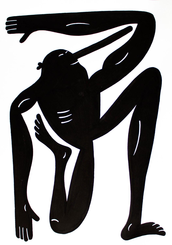 tegninger, figurative, monokrome, portræt, kroppe, humor, sorte, hvide, blæk, papir, abstrakte-former, underholdende, sort-hvide, Køb original kunst af den højeste kvalitet. Malerier, tegninger, limited edition kunsttryk & plakater af dygtige kunstnere.