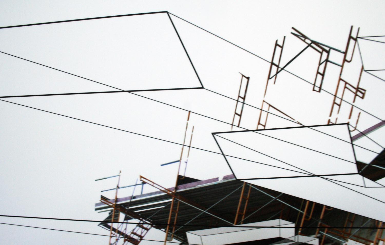 digital collage på væg, digital print, Indrammet digital collage Indreammet fotografi, kunstfoto, kunstfotografi, fragmentering, dynamik, strukturer og historie. facebook, google, pinterest