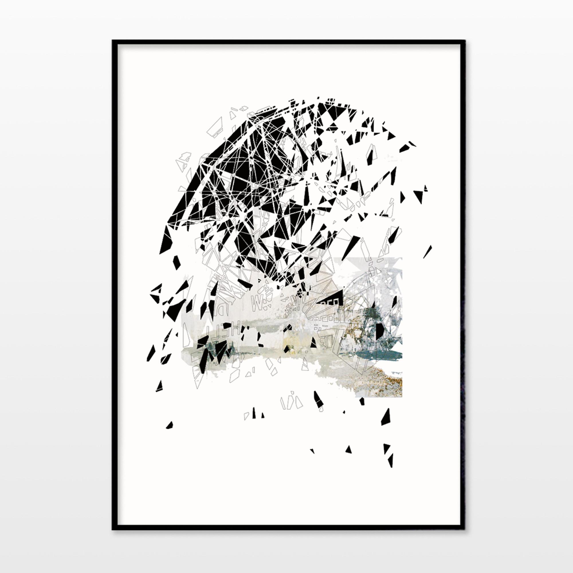 plakater-posters-kunsttryk, fotografier, new-media, abstrakte, grafiske, arkitektur, mønstre, sorte, blæk, papir, arkitektoniske, sort-hvide, bygninger, samtidskunst, kubisme, dansk, dekorative, design, interiør, bolig-indretning, moderne, moderne-kunst, nordisk, plakater, tryk, skandinavisk, symmetri, Køb original kunst og kunstplakater. Malerier, tegninger, limited edition kunsttryk & plakater af dygtige kunstnere.