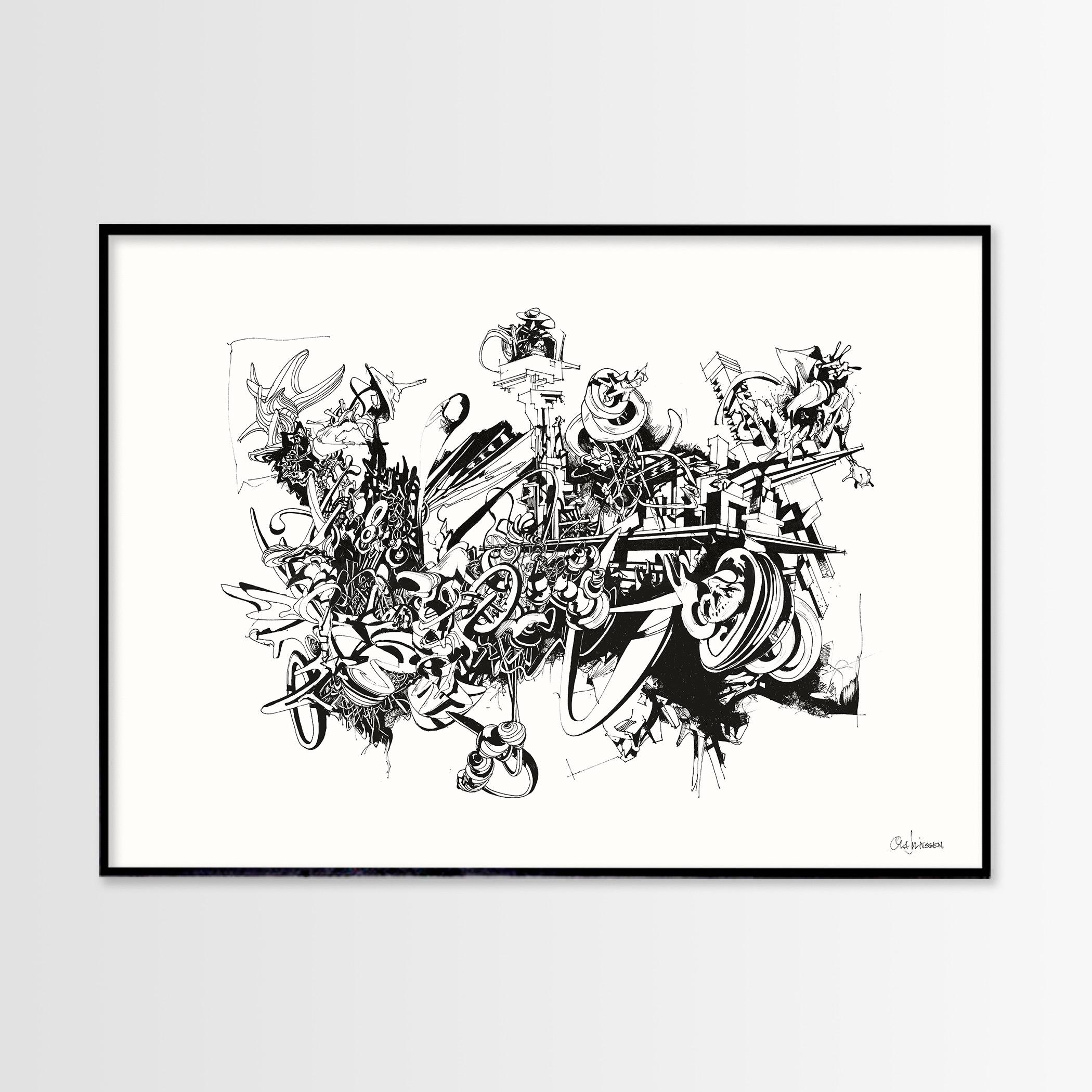 plakater, gicleé, æstetiske, grafiske, monokrome, arkitektur, botanik, natur, mønstre, teknologi, sorte, hvide, blæk, papir, abstrakte-former, arkitektoniske, sort-hvide, bygninger, samtidskunst, dans, design, graffiti, interiør, bolig-indretning, moderne, moderne-kunst, nordisk, planter, skandinavisk, Køb original kunst og kunstplakater. Malerier, tegninger, limited edition kunsttryk & plakater af dygtige kunstnere.