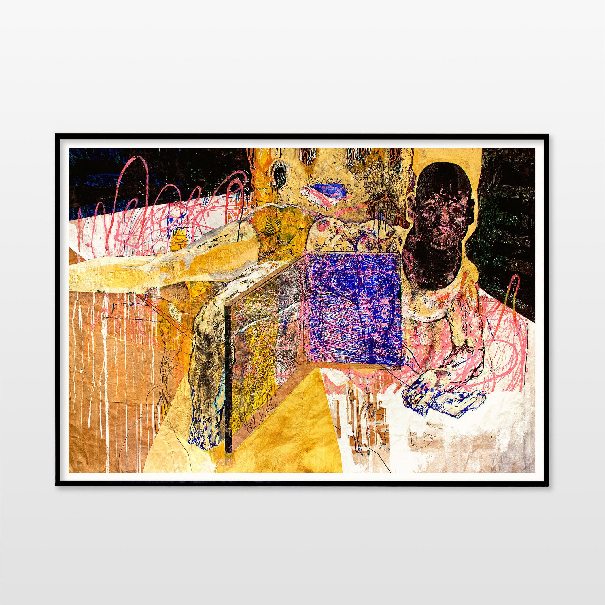 kunsttryk, gicleé, farverige, ekspressionistiske, illustrative, kroppe, stemninger, bevægelse, mennesker, sorte, brune, pink, gule, blæk, papir, samtidskunst, dansk, dekorative, design, ekspressionisme, ansigter, interiør, bolig-indretning, mænd, moderne, moderne-kunst, nordisk, plakater, tryk, skandinavisk, Køb original kunst og kunstplakater. Malerier, tegninger, limited edition kunsttryk & plakater af dygtige kunstnere.