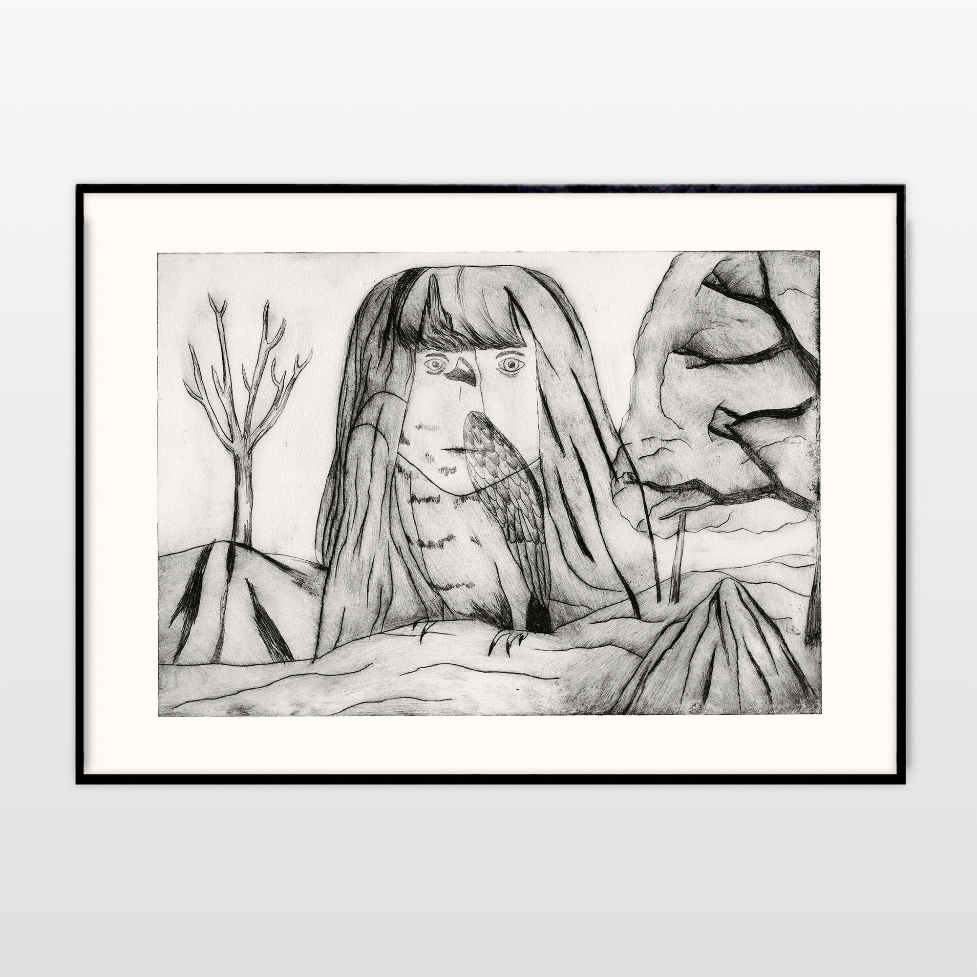 plakater, gicleé, dyr, børnevenlige, illustrative, monokrome, dyreliv, kroppe, humor, mennesker, kæledyr, vilde-dyr, sorte, grå, hvide, blæk, papir, sjove, fugle, sort-hvide, dansk, dekorative, design, interiør, bolig-indretning, moderne, moderne-kunst, nordisk, skandinavisk, Køb original kunst og kunstplakater. Malerier, tegninger, limited edition kunsttryk & plakater af dygtige kunstnere.