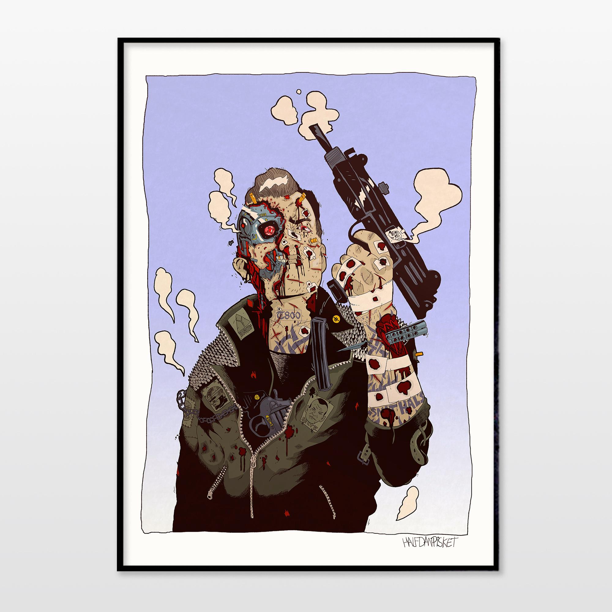 plakater-posters-kunsttryk, giclee-tryk, illustrative, portræt, surrealistiske, tegneserier, mennesker, videnskab, beige, sorte, blå, blæk, papir, sjove, samtidskunst, københavn, dansk, dekorative, interiør, bolig-indretning, mænd, moderne, moderne-kunst, nordisk, plakater, tryk, skandinavisk, Køb original kunst og kunstplakater. Malerier, tegninger, limited edition kunsttryk & plakater af dygtige kunstnere.