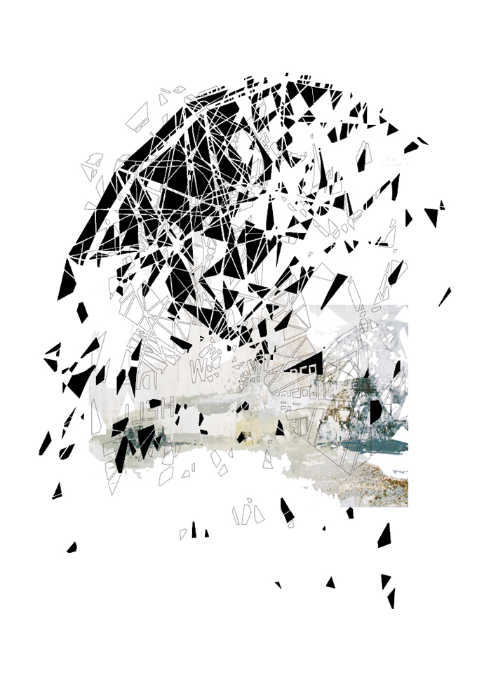 kunsttryk, fotografier, new-media, abstrakte, grafiske, arkitektur, mønstre, sorte, blæk, papir, arkitektoniske, sort-hvide, bygninger, kubisme, dekorative, design, interiør, bolig-indretning, symmetri, Køb original kunst og kunstplakater. Malerier, tegninger, limited edition kunsttryk & plakater af dygtige kunstnere.