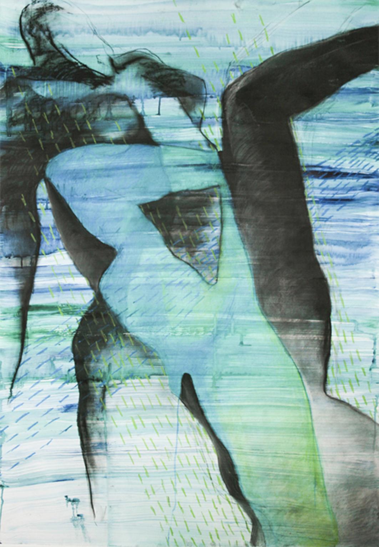 tegninger, abstrakte, æstetiske, figurative, portræt, kroppe, seksualitet, blå, grønne, hvide, akryl, kul, papir, abstrakte-former, smukke, dekorative, interiør, bolig-indretning, nøgen, flotte, Køb original kunst og kunstplakater. Malerier, tegninger, limited edition kunsttryk & plakater af dygtige kunstnere.