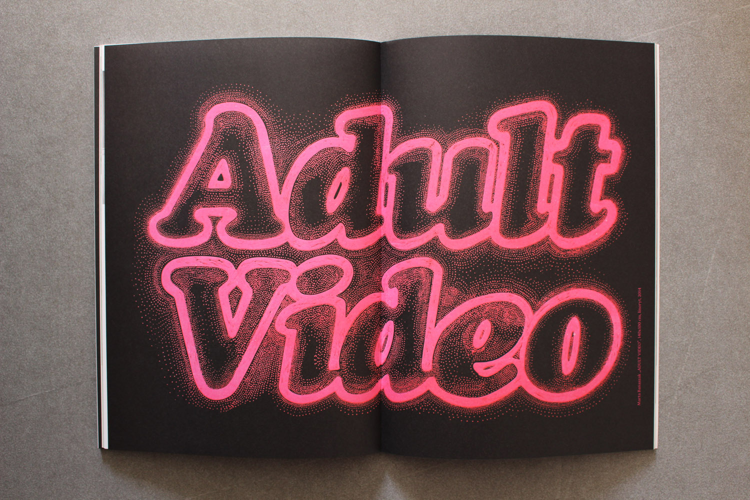 ADULT VIDEO linocut_Warsawholic Magazine