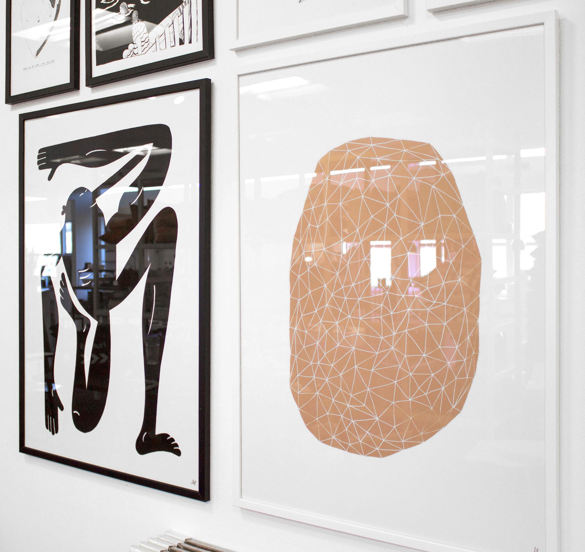 plakater-posters-kunsttryk, giclee-tryk, abstrakte, geometriske, grafiske, illustrative, minimalistiske, arkitektur, mønstre, beige, hvide, blæk, papir, abstrakte-former, arkitektoniske, samtidskunst, københavn, kubisme, dansk, dekorative, design, interiør, bolig-indretning, moderne, moderne-kunst, nordisk, plakater, tryk, skandinavisk, Køb original kunst og kunstplakater. Malerier, tegninger, limited edition kunsttryk & plakater af dygtige kunstnere.