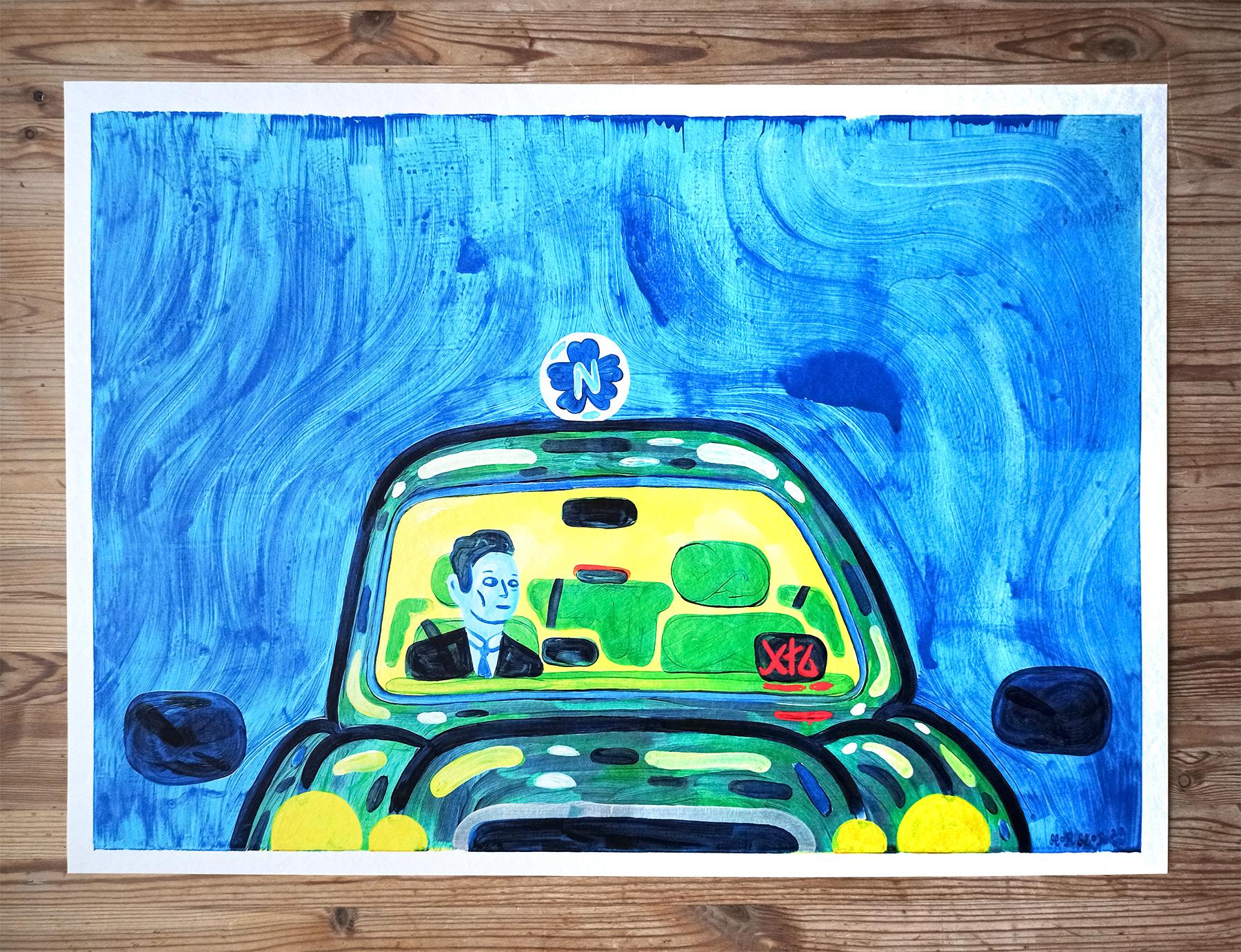 plakater-posters-kunsttryk, giclee-tryk, farverige, børnevenlige, figurative, grafiske, illustrative, pop, kroppe, tegneserier, hverdagsliv, bevægelse, mennesker, blå, grønne, turkise, gule, blæk, papir, sjove, dansk, dekorative, design, interiør, bolig-indretning, nordisk, plakater, flotte, tryk, skandinavisk, Køb original kunst og kunstplakater. Malerier, tegninger, limited edition kunsttryk & plakater af dygtige kunstnere.