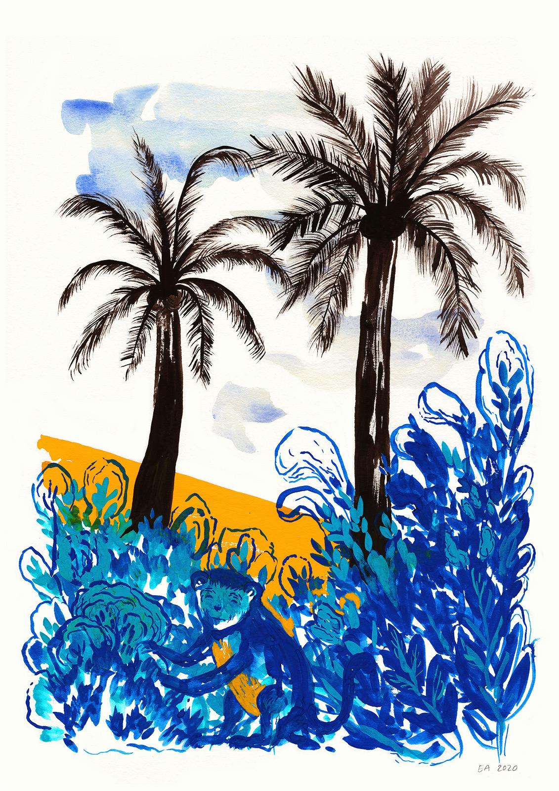 tegninger, akvarel-malerier, æstetiske, farverige, børnevenlige, figurative, illustrative, landskab, dyreliv, botanik, børn, natur, vilde-dyr, sorte, blå, orange, blæk, papir, akvarel, smukke, samtidskunst, dansk, dekorative, design, interiør, bolig-indretning, moderne, moderne-kunst, nordisk, planter, plakater, flotte, skandinavisk, Køb original kunst og kunstplakater. Malerier, tegninger, limited edition kunsttryk & plakater af dygtige kunstnere.