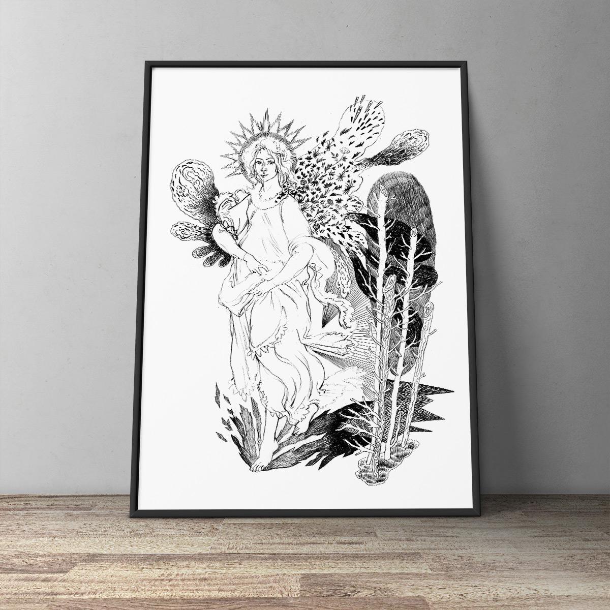 plakater-posters-kunsttryk, giclee-tryk, æstetiske, figurative, monokrome, kroppe, botanik, seksualitet, sorte, hvide, blæk, papir, smukke, sort-hvide, samtidskunst, dansk, dekorative, kvindelig, blomster, interiør, bolig-indretning, moderne, moderne-kunst, nordisk, nøgen, planter, flotte, skandinavisk, Køb original kunst og kunstplakater. Malerier, tegninger, limited edition kunsttryk & plakater af dygtige kunstnere.