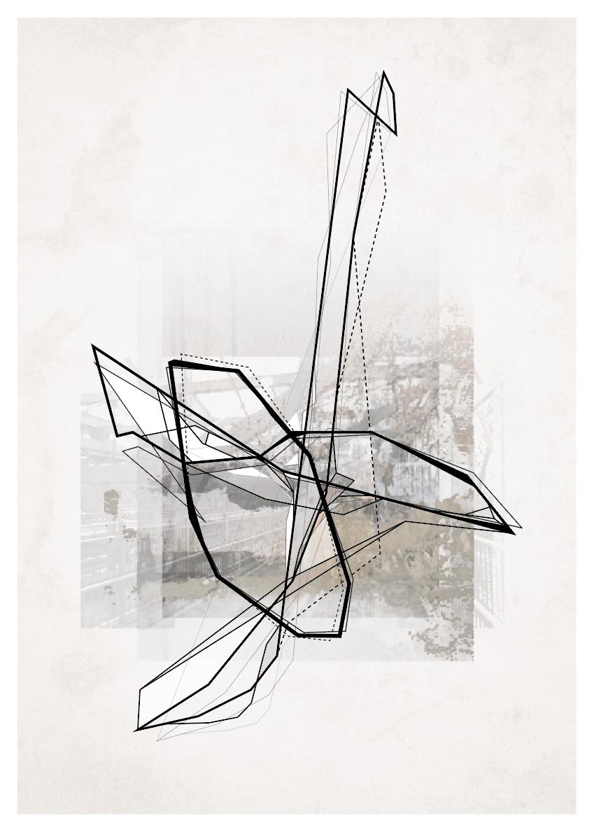 plakater-posters-kunsttryk, fotografier, collager, new-media, abstrakte, geometriske, grafiske, monokrome, arkitektur, brune, grå, blæk, papir, abstrakte-former, arkitektoniske, sort-hvide, bygninger, byer, københavn, dansk, dekorative, design, interiør, bolig-indretning, moderne, moderne-kunst, naturlig, nordisk, skandinavisk, Køb original kunst og kunstplakater. Malerier, tegninger, limited edition kunsttryk & plakater af dygtige kunstnere.