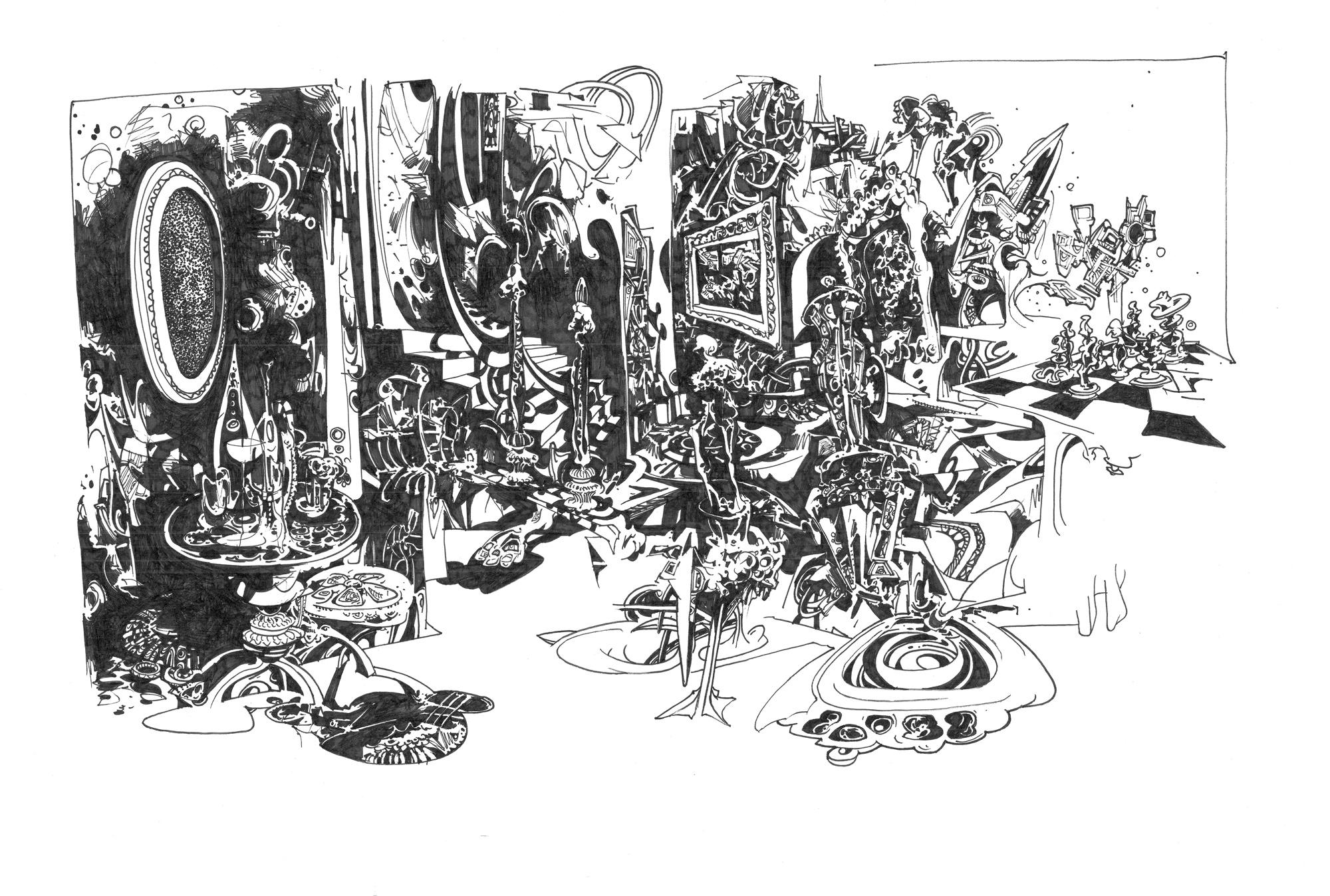 plakater-posters-kunsttryk, giclee-tryk, abstrakte, geometriske, surrealistiske, arkitektur, hverdagsliv, mønstre, sorte, hvide, papir, tusch, abstrakte-former, arkitektoniske, mad, Køb original kunst og kunstplakater. Malerier, tegninger, limited edition kunsttryk & plakater af dygtige kunstnere.