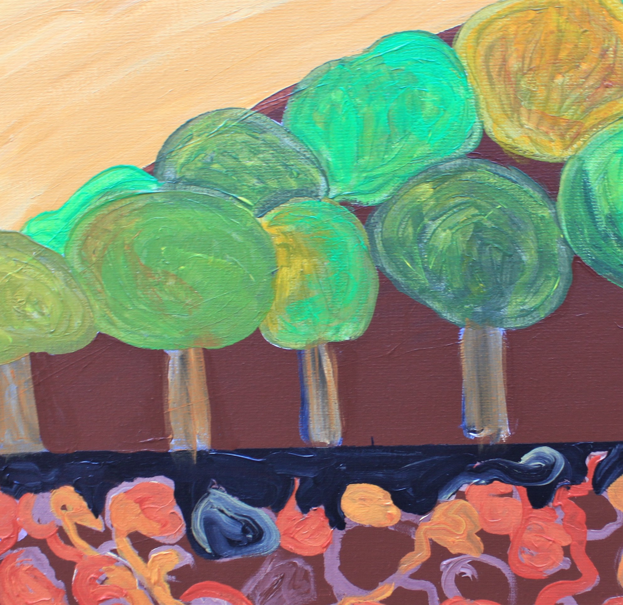 malerier, farverige, figurative, landskab, botanik, natur, blå, grønne, gule, akryl, hørlærred, samtidskunst, ekspressionisme, interiør, bolig-indretning, moderne, moderne-kunst, bjerge, sceneri, levende, Køb original kunst og kunstplakater. Malerier, tegninger, limited edition kunsttryk & plakater af dygtige kunstnere.