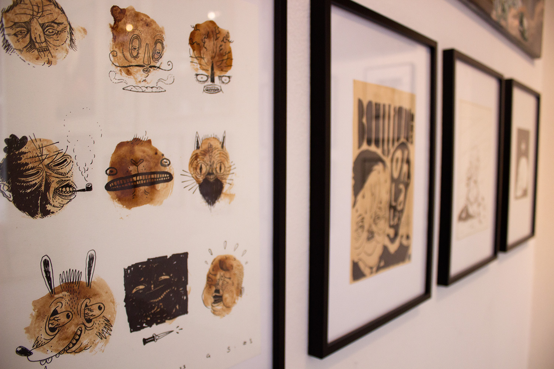 tegning original illustration. udtryksfuldt moderne kunst. talentfulde kunstnere, online kunstgalleri