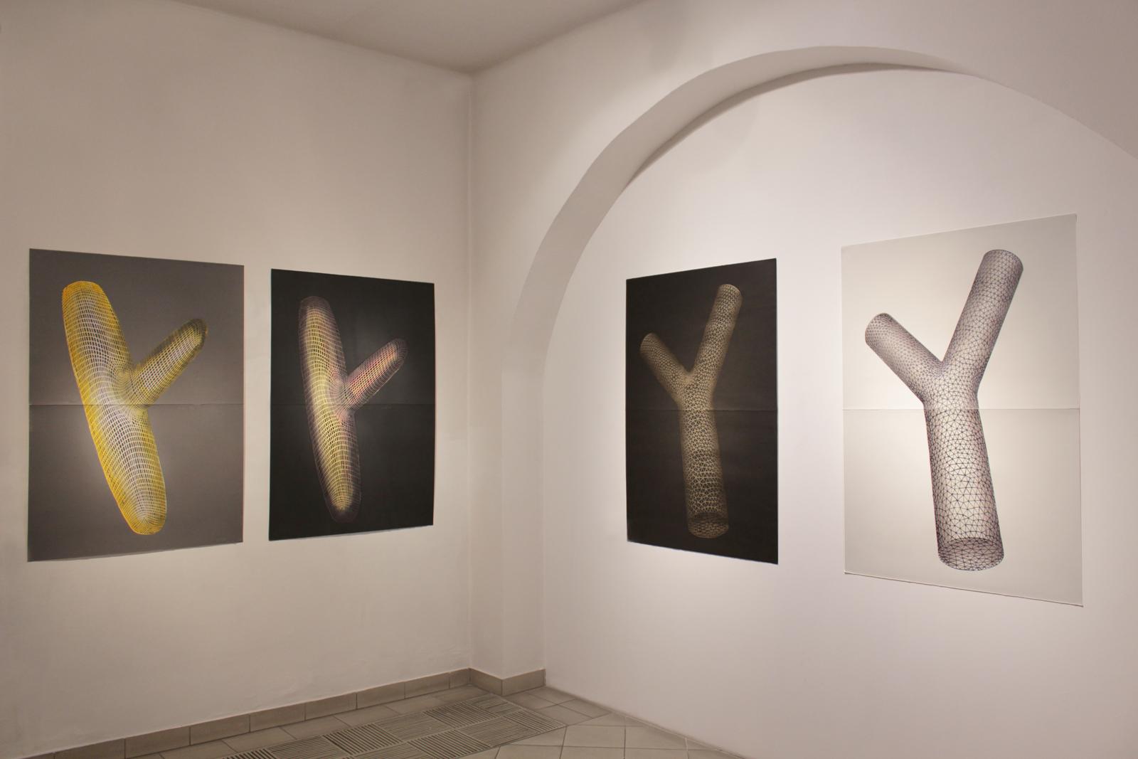 FIGURATIONS XVI linocut_exhibition