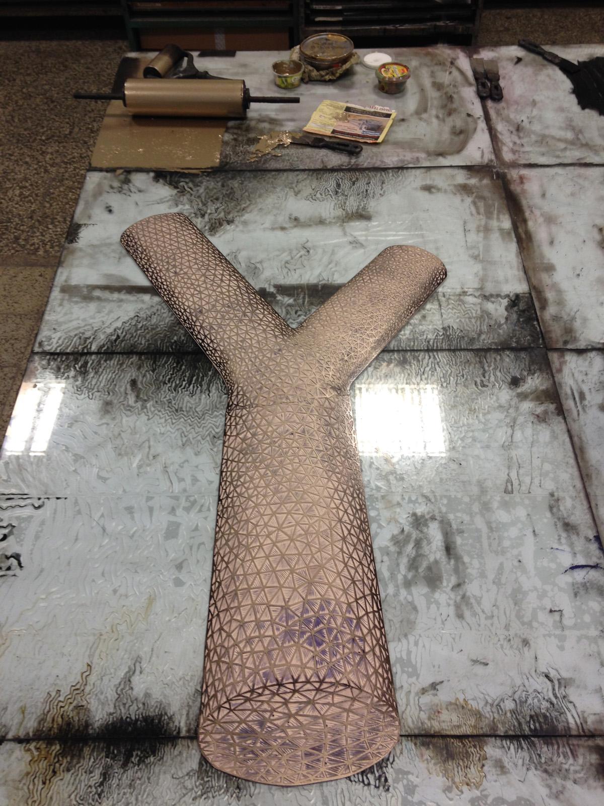 FIGURATIONS XVI linocut_stencil