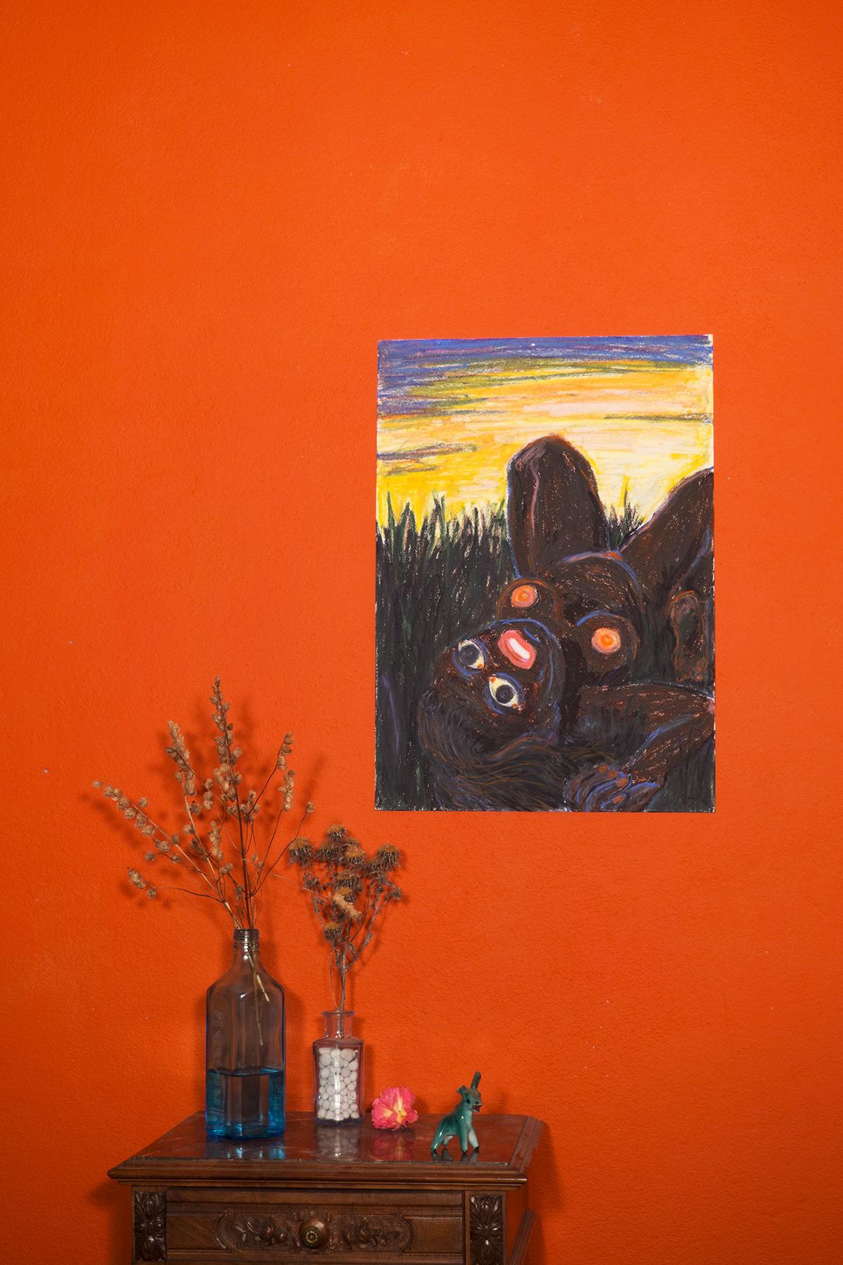 tegninger, farverige, ekspressionistiske, illustrative, landskab, portræt, kroppe, stemninger, natur, seksualitet, brune, gule, papir, olie, samtidskunst, dansk, erotiske, kvindelig, feminist, interiør, bolig-indretning, moderne, moderne-kunst, naturealistiske, nat, nordisk, nøgen, obskurt, skandinavisk, seksuel, teenage, Køb original kunst og kunstplakater. Malerier, tegninger, limited edition kunsttryk & plakater af dygtige kunstnere.