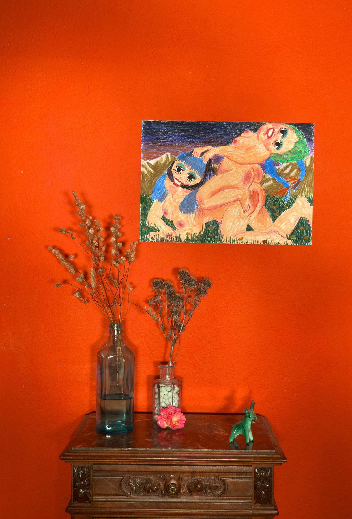 kunsttryk, tegninger, gicleé, farverige, kroppe, humor, stemninger, mennesker, seksualitet, pastel, blæk, papir, sjove, samtidskunst, dansk, erotiske, kvindelig, feminist, interiør, bolig-indretning, moderne, moderne-kunst, nordisk, nøgen, seksuel, teenage, underlig, kvinder, Køb original kunst og kunstplakater. Malerier, tegninger, limited edition kunsttryk & plakater af dygtige kunstnere.