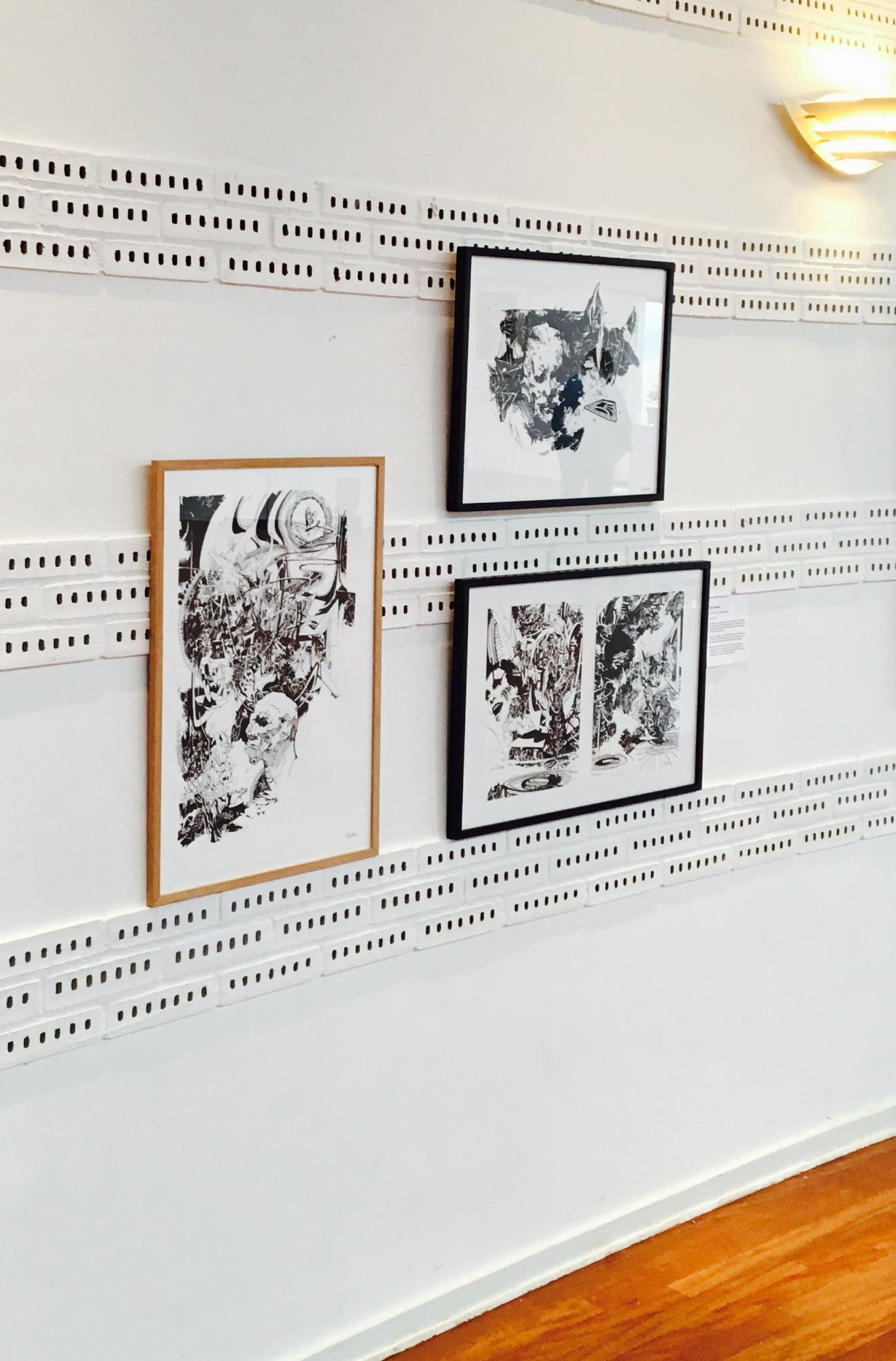 tegninger, abstrakte, figurative, monokrome, portræt, surrealistiske, botanik, natur, mennesker, sorte, hvide, papir, tusch, abstrakte-former, sort-hvide, ansigter, Køb original kunst af den højeste kvalitet. Malerier, tegninger, limited edition kunsttryk & plakater af dygtige kunstnere.