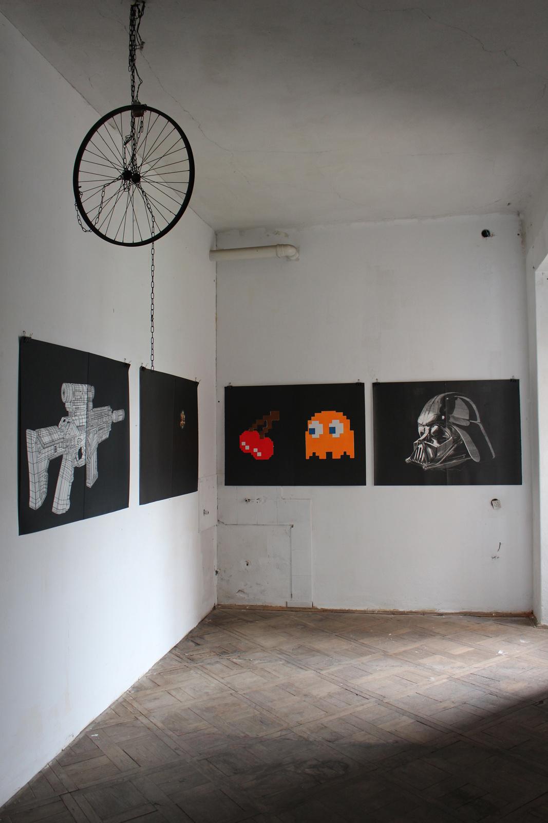 GHOST linocut_exhibition