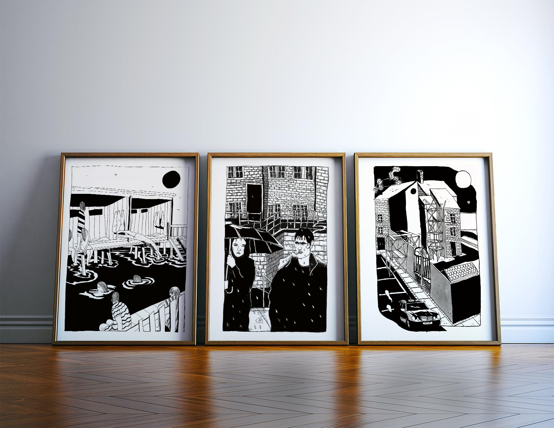plakater-posters-kunsttryk, giclee-tryk, grafiske, illustrative, monokrome, portræt, arkitektur, kroppe, natur, årstider, sorte, hvide, blæk, papir, strand, samtidskunst, københavn, dansk, dekorative, design, interiør, bolig-indretning, kærlighed, moderne, moderne-kunst, nordisk, plakater, skandinavisk, vand, Køb original kunst og kunstplakater. Malerier, tegninger, limited edition kunsttryk & plakater af dygtige kunstnere.