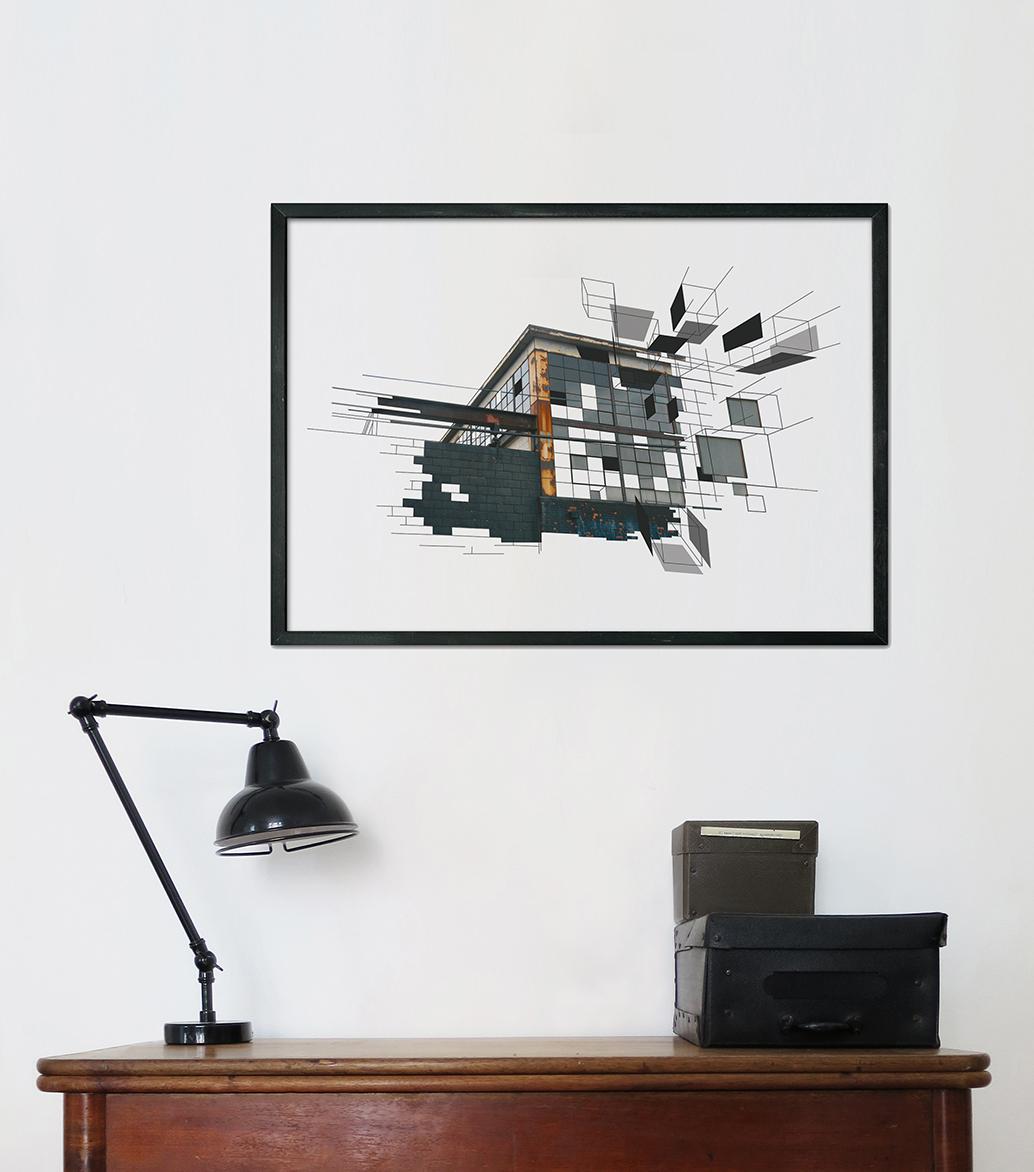 kunsttryk, fotografier, new-media, abstrakte, geometriske, grafiske, arkitektur, brune, grå, blæk, papir, abstrakte-former, arkitektoniske, smukke, bygninger, konceptuel, samtidskunst, dansk, dekorative, design, interiør, bolig-indretning, moderne, moderne-kunst, nordisk, skandinavisk, Køb original kunst og kunstplakater. Malerier, tegninger, limited edition kunsttryk & plakater af dygtige kunstnere.