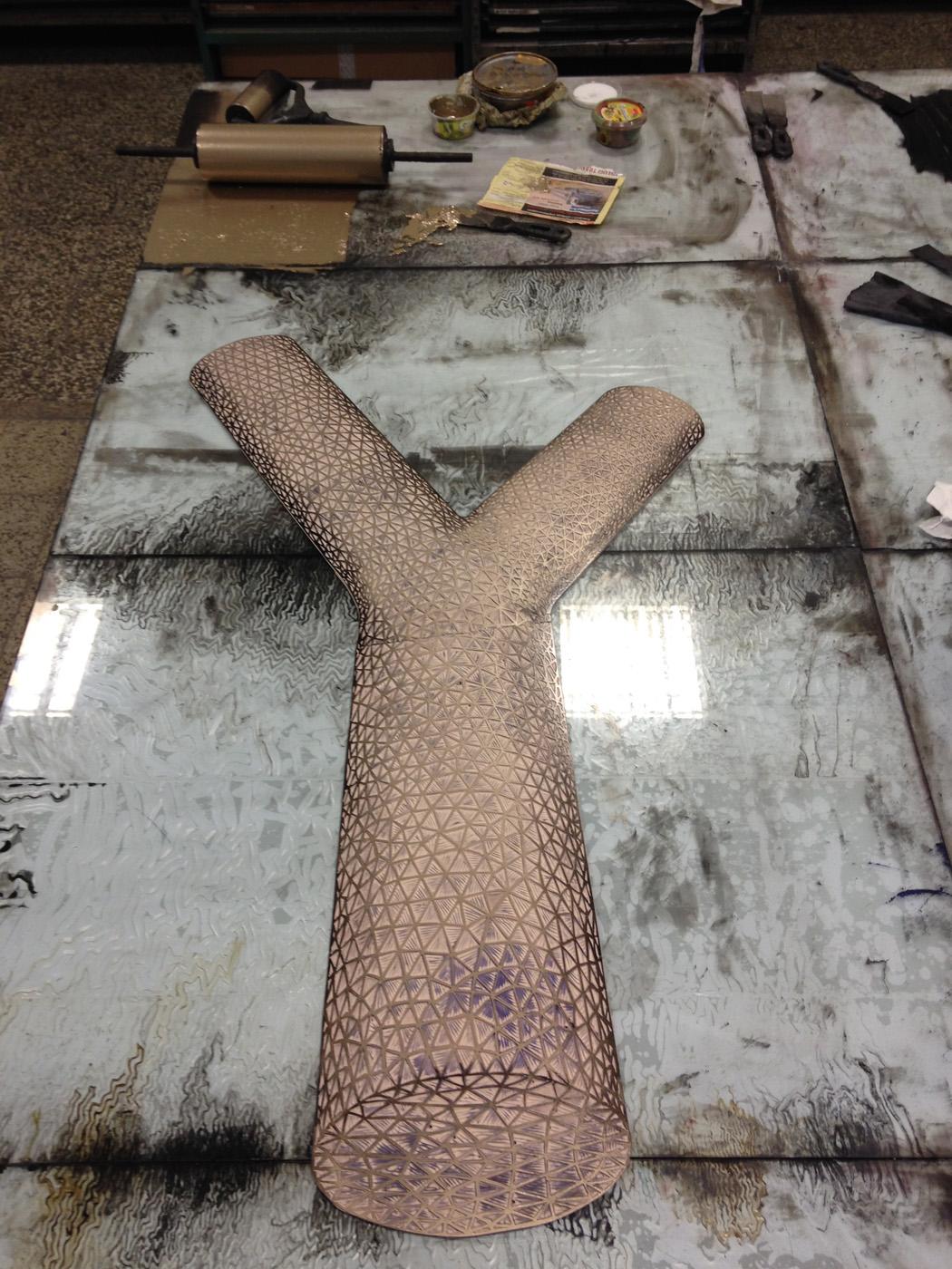 FIGURATIONS XVI linocut_printing process