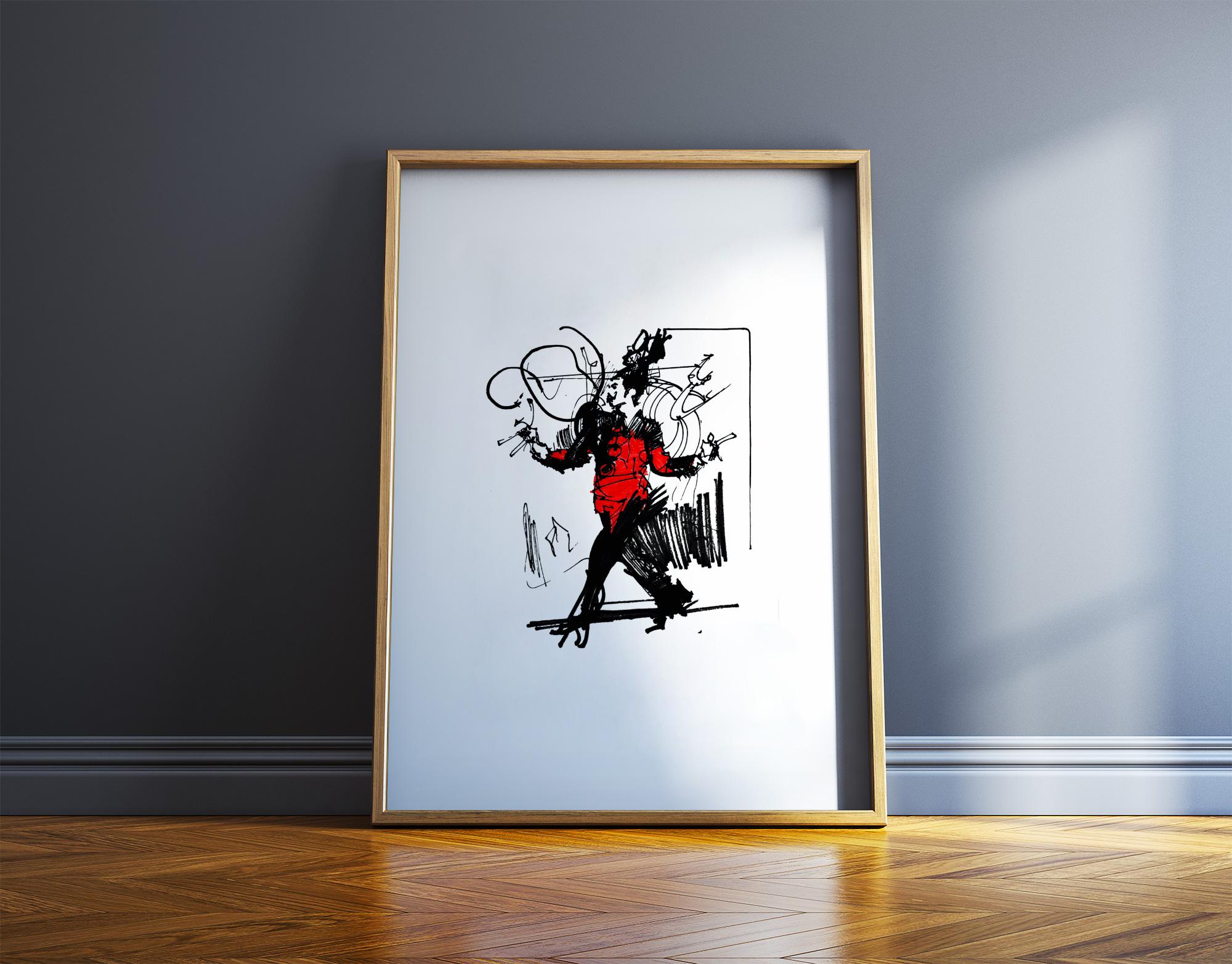 plakater, gicleé, æstetiske, figurative, illustrative, portræt, kroppe, bevægelse, mennesker, sorte, røde, hvide, blæk, papir, samtidskunst, dansk, dekorative, design, interiør, bolig-indretning, mænd, moderne, moderne-kunst, nordisk, plakater, tryk, skandinavisk, Køb original kunst og kunstplakater. Malerier, tegninger, limited edition kunsttryk & plakater af dygtige kunstnere.