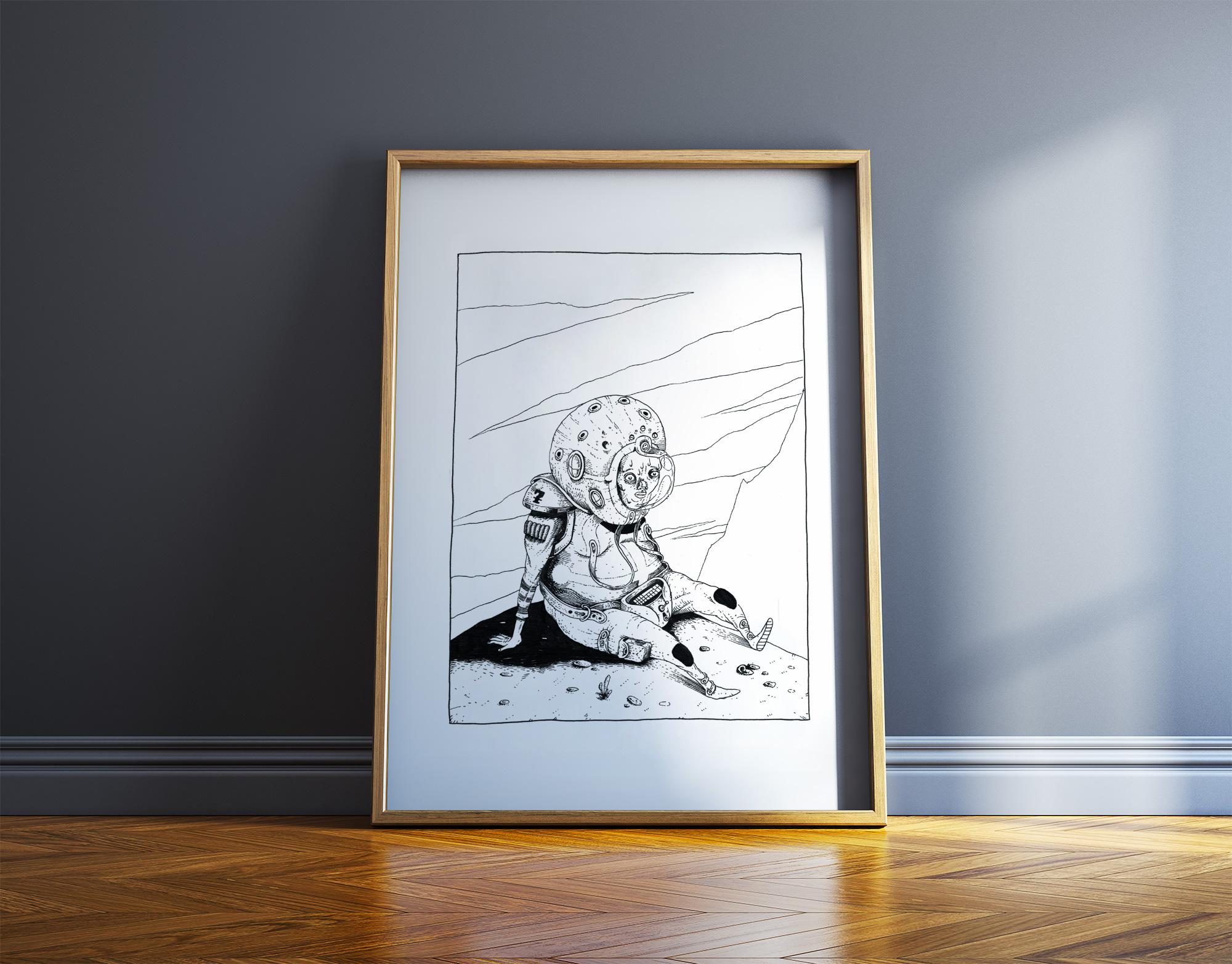 kunsttryk, gliceé, børnevenlige, monokrome, børn, humor, himmel, sorte, hvide, blæk, papir, sjove, atmosfære, sort-hvide, samtidskunst, sød, dansk, dekorative, design, interiør, bolig-indretning, moderne, moderne-kunst, nordisk, plakater, tryk, Køb original kunst og kunstplakater. Malerier, tegninger, limited edition kunsttryk & plakater af dygtige kunstnere.