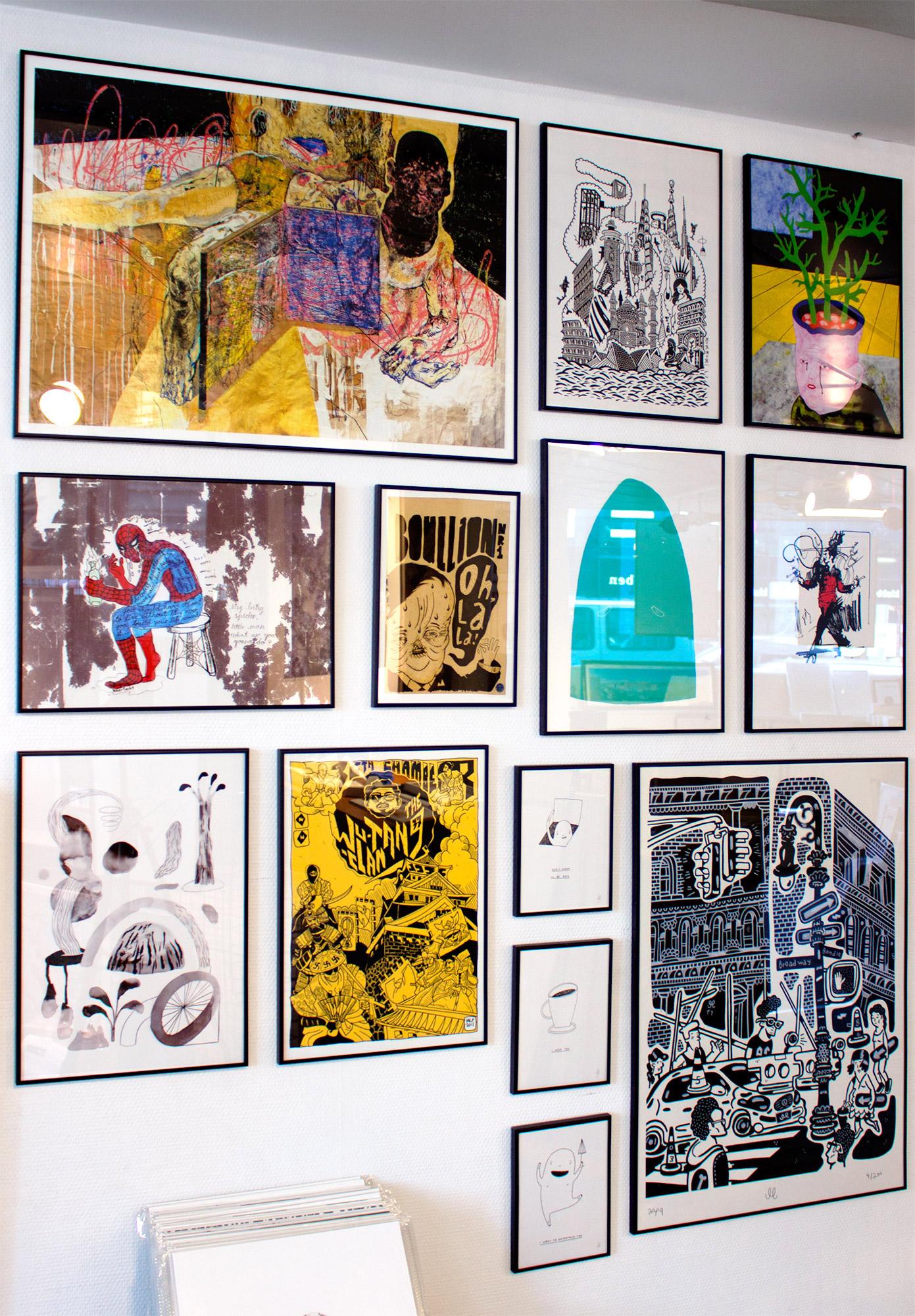 plakater, gicleé, farverige, ekspressionistiske, illustrative, kroppe, stemninger, bevægelse, mennesker, sorte, brune, pink, gule, blæk, papir, samtidskunst, dansk, dekorative, design, ekspressionisme, ansigter, interiør, bolig-indretning, mænd, moderne, moderne-kunst, nordisk, plakater, tryk, skandinavisk, Køb original kunst og kunstplakater. Malerier, tegninger, limited edition kunsttryk & plakater af dygtige kunstnere.