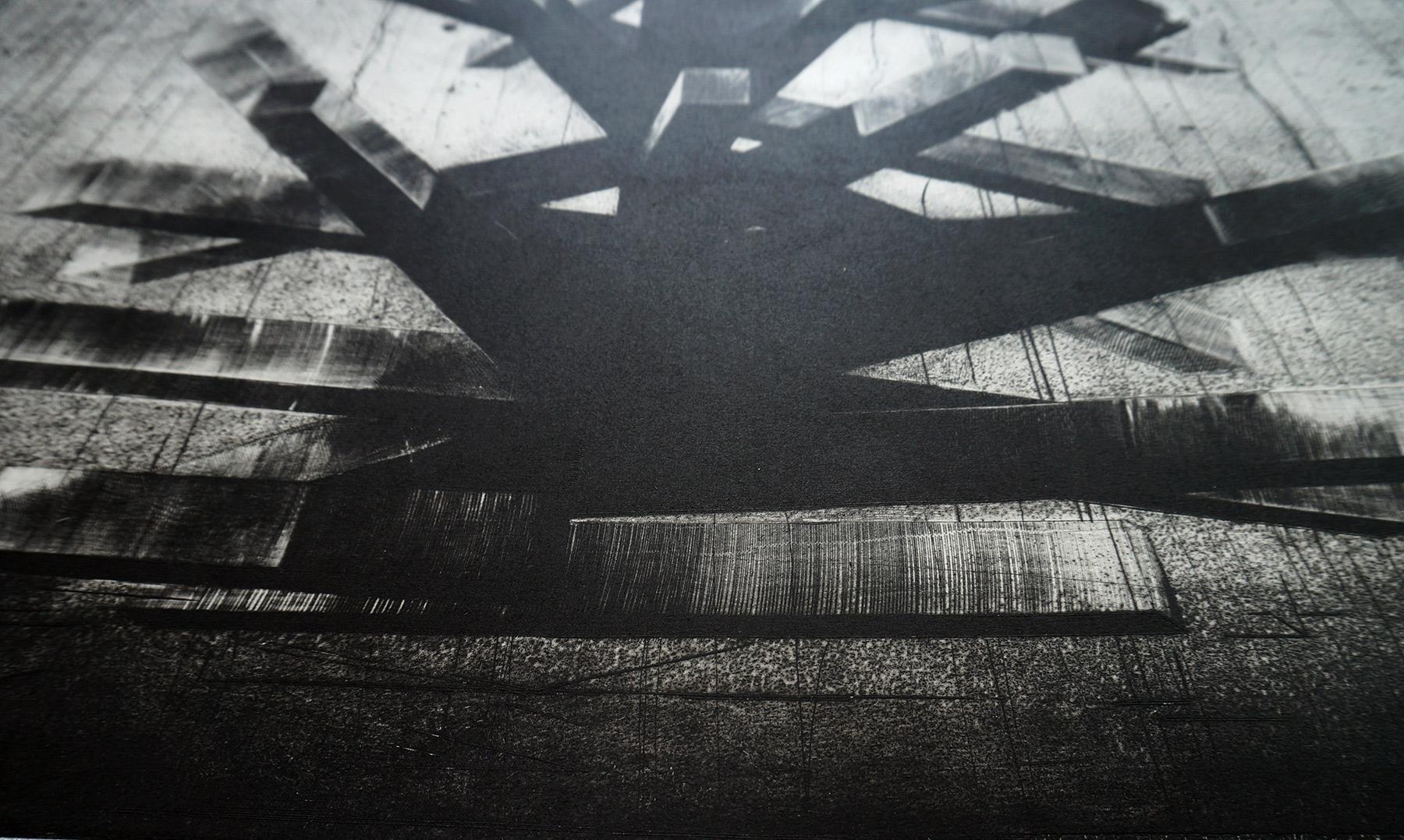 kunsttryk, engraveringer, abstrakte, grafiske, monokrome, arkitektur, mønstre, sorte, grå, hvide, blæk, papir, abstrakte-former, efterår, sort-hvide, dansk, dekorative, design, interiør, bolig-indretning, nordisk, skandinavisk, Køb original kunst og kunstplakater. Malerier, tegninger, limited edition kunsttryk & plakater af dygtige kunstnere.