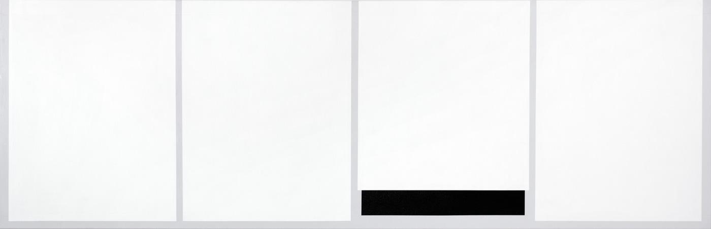 Malerier abstrakte grafiske minimalistiske sorte hvide inquiry 3 kirsten rotb ll lassen - Insulating exterior paint minimalist ...