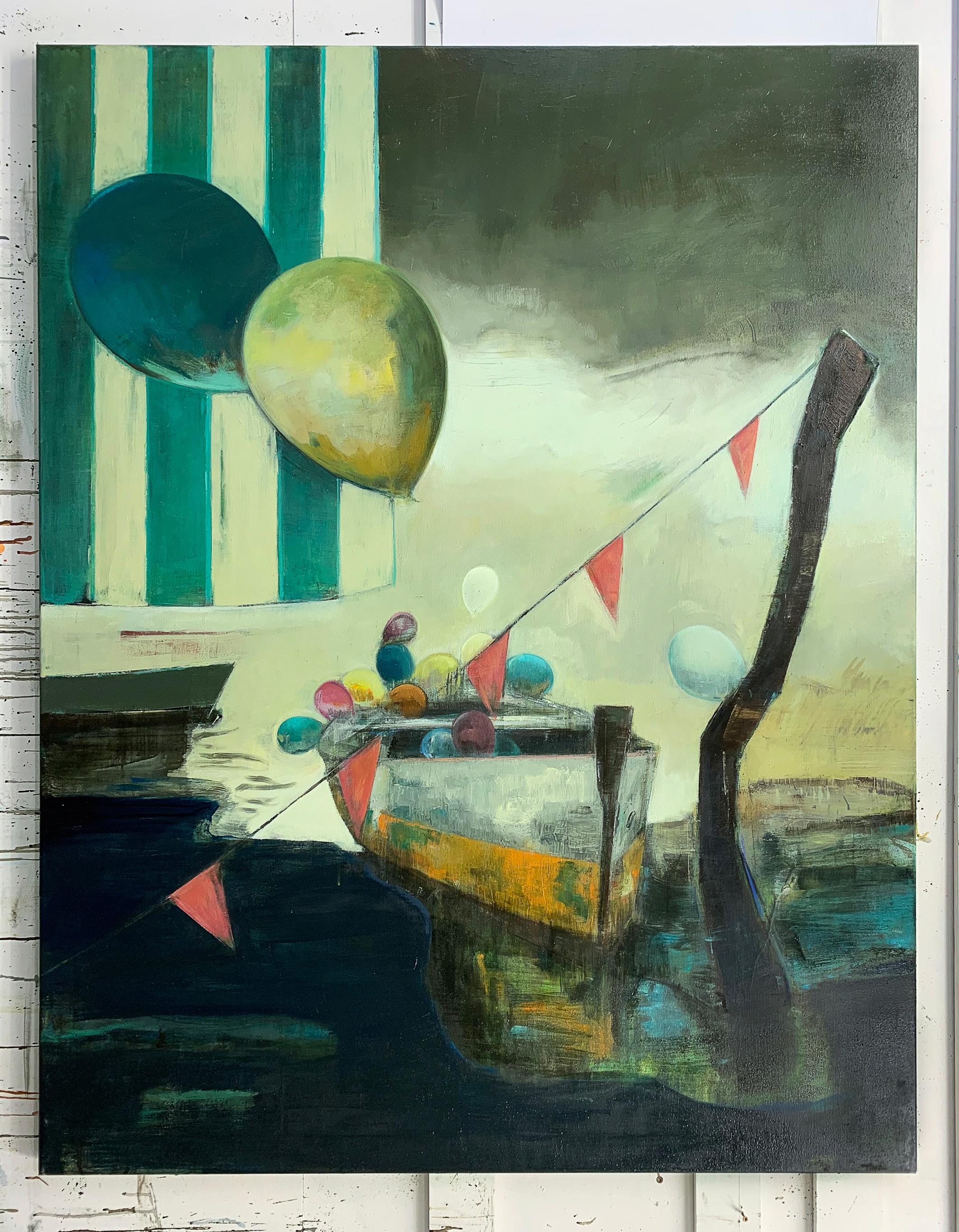 malerier, ekspressionistiske, figurative, grafiske, surrealistiske, stemninger, havet, sejlads, himmel, beige, grønne, orange, gule, akryl, kul,  bomuldslærred, olie, strand, smukke, både, lyse, samtidskunst, københavn, ekspressionisme, bolig-indretning, moderne-kunst, nordisk, udendørs, sejlbåd, skandinavisk, hav, skibe, sommer, sol, fartøjer, vand, Køb original kunst og kunstplakater. Malerier, tegninger, limited edition kunsttryk & plakater af dygtige kunstnere.
