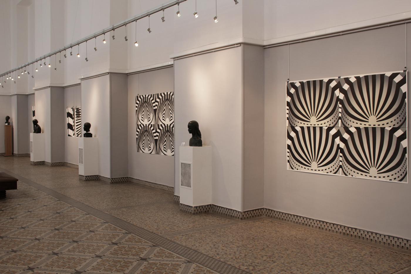 MIHRAB II linocut_exhibition