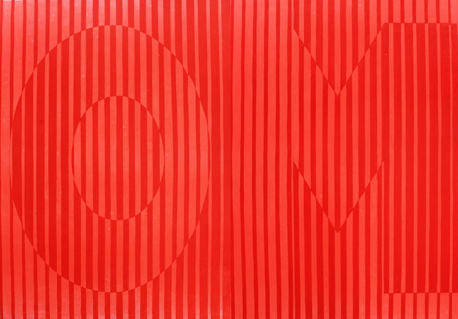 OM linocut_red