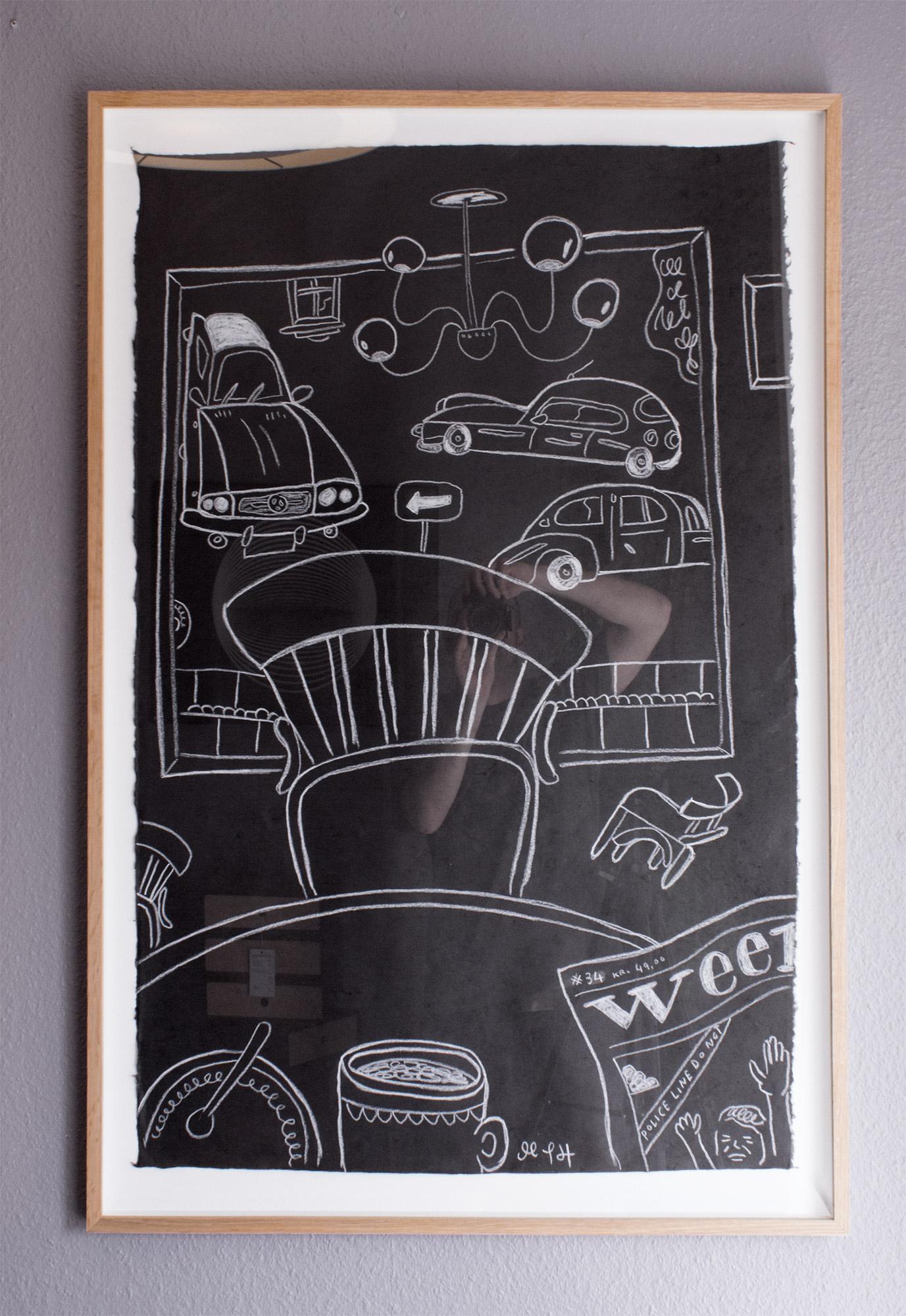 tegninger, figurative, illustrative, minimalistiske, monokrome, arkitektur, hverdagsliv, stemninger, transportmidler, sorte, papir, andre-medier, sort-hvide, samtidskunst, dekorative, design, interiør, bolig-indretning, moderne, moderne-kunst, Køb original kunst og kunstplakater. Malerier, tegninger, limited edition kunsttryk & plakater af dygtige kunstnere.