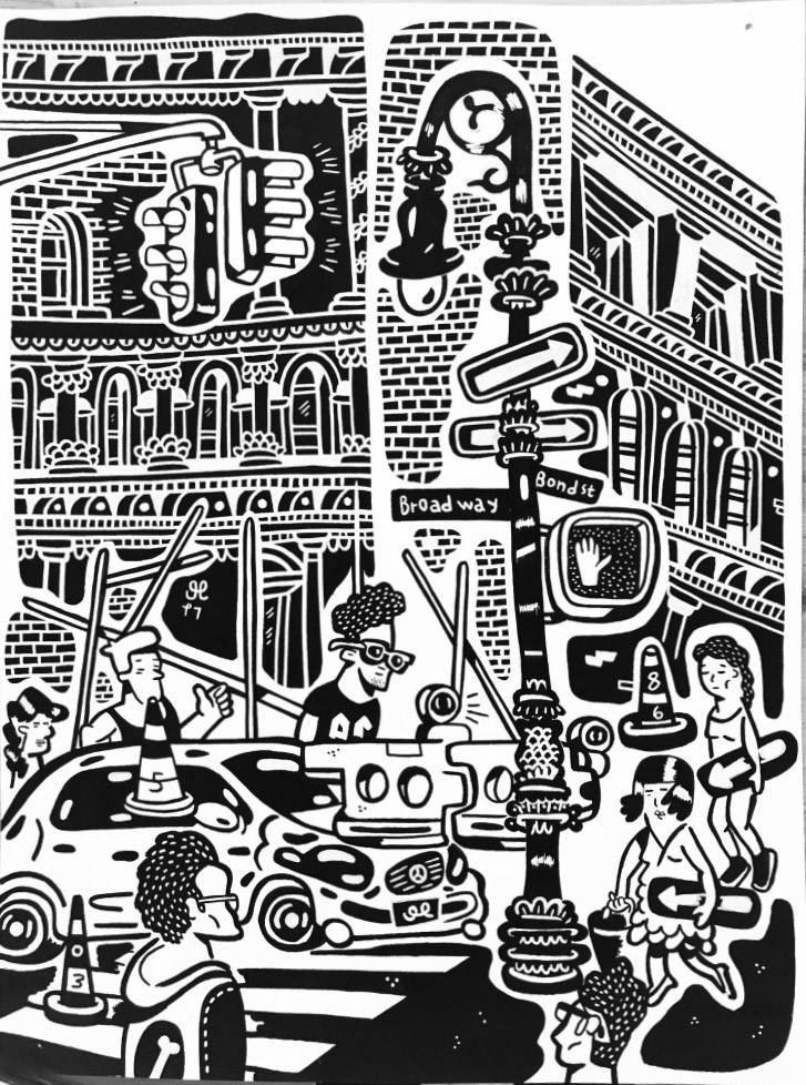 tegninger, æstetiske, illustrative, pop, arkitektur, kroppe, tegneserier, stemninger, mennesker, sorte, grå, hvide, akryl, blæk, papir, tusch, arkitektoniske, bygninger, samtidskunst, dansk, interiør, bolig-indretning, moderne, moderne-kunst, nordisk, skandinavisk, Køb original kunst og kunstplakater. Malerier, tegninger, limited edition kunsttryk & plakater af dygtige kunstnere.