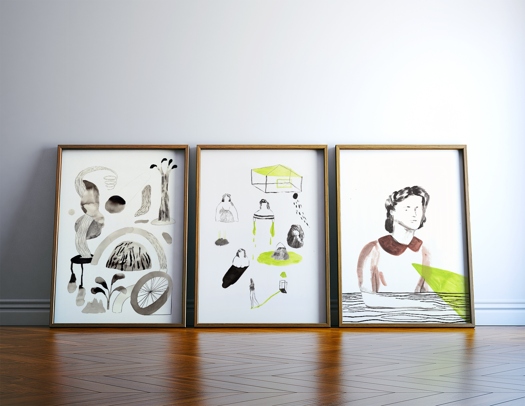 kunsttryk, gliceé, figurative, grafiske, portræt, kroppe, botanik, natur, sorte, brune, grønne, hvide, blæk, papir, smukke, tøj, dekorative, ansigter, kvindelig, interiør, bolig-indretning, kvinder, Køb original kunst og kunstplakater. Malerier, tegninger, limited edition kunsttryk & plakater af dygtige kunstnere.