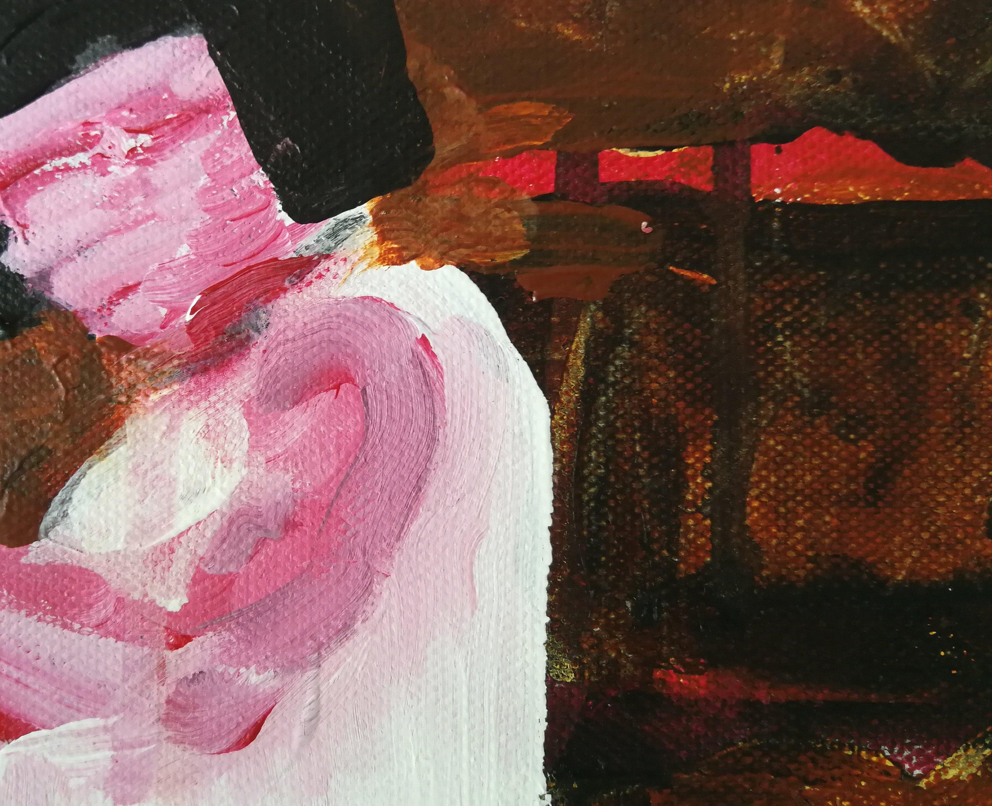 malerier, ekspressionistiske, figurative, kroppe, bevægelse, mennesker, sport, beige, sorte, blå, røde, akryl,  bomuldslærred, samtidskunst, dekorative, ekspressionisme, kvindelig, feminist, interiør, bolig-indretning, moderne, moderne-kunst, kvinder, Køb original kunst og kunstplakater. Malerier, tegninger, limited edition kunsttryk & plakater af dygtige kunstnere.