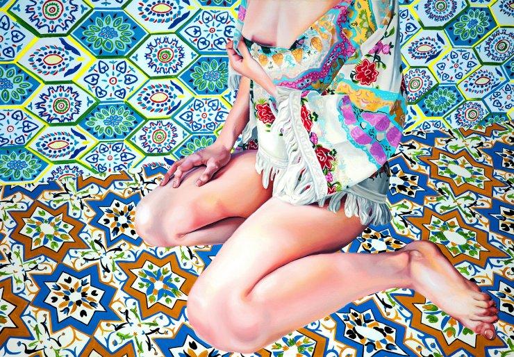 plakater-posters-kunsttryk, giclee-tryk, æstetiske, farverige, figurative, geometriske, grafiske, kroppe, botanik, mønstre, seksualitet, beige, blå, grønne, turkise, blæk, papir, københavn, dansk, design, kvindelig, piger, interiør, bolig-indretning, kærlighed, nordisk, romantiske, seksuel, kvinder, Køb original kunst og kunstplakater. Malerier, tegninger, limited edition kunsttryk & plakater af dygtige kunstnere.
