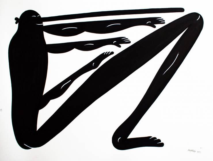 tegninger, æstetiske, figurative, monokrome, portræt, kroppe, humor, seksualitet, sorte, hvide, blæk, papir, abstrakte-former, sjove, sort-hvide, mænd, Køb original kunst af den højeste kvalitet. Malerier, tegninger, limited edition kunsttryk & plakater af dygtige kunstnere.