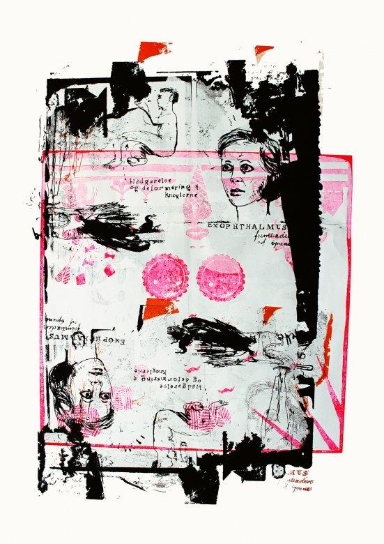 plakater-posters-kunsttryk, giclee-tryk, abstrakte, figurative, portræt, kroppe, mennesker, kæledyr, sorte, pink, hvide, blæk, papir, smukke, samtidskunst, københavn, dansk, dekorative, design, hunde, ansigter, interiør, bolig-indretning, moderne, moderne-kunst, nordisk, kvinder, Køb original kunst og kunstplakater. Malerier, tegninger, limited edition kunsttryk & plakater af dygtige kunstnere.