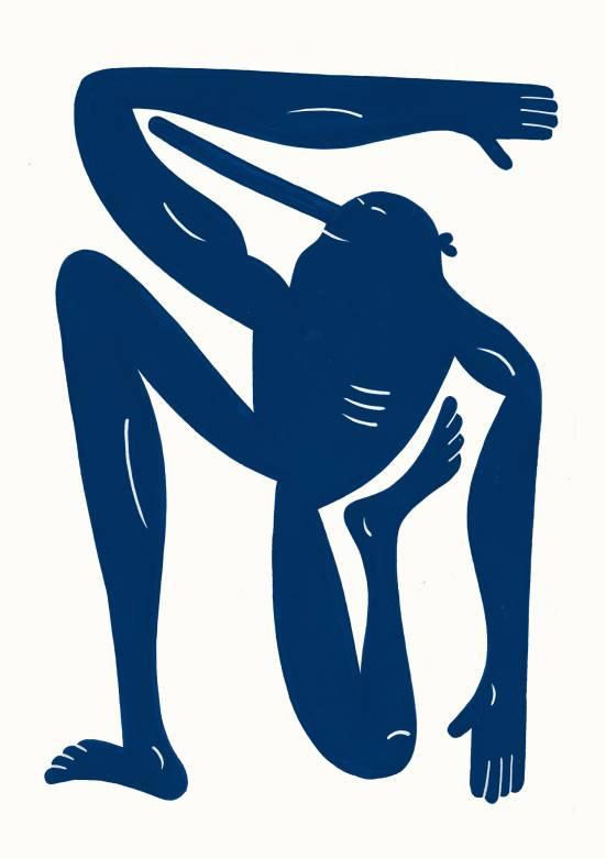 plakater-posters-kunsttryk, giclee-tryk, børnevenlige, figurative, grafiske, illustrative, kroppe, tegneserier, humor, bevægelse, sport, blå, blæk, papir, sjove, københavn, dansk, dekorative, design, interiør, bolig-indretning, moderne, moderne-kunst, nordisk, plakater, tryk, Køb original kunst og kunstplakater. Malerier, tegninger, limited edition kunsttryk & plakater af dygtige kunstnere.