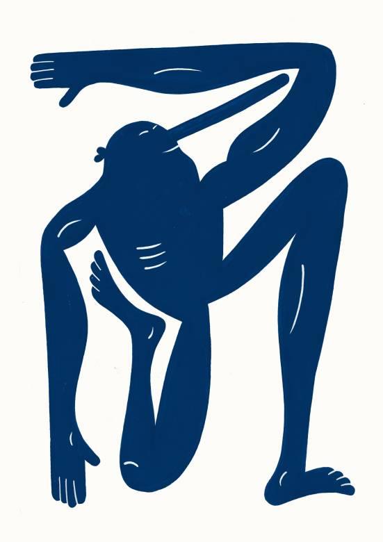 kunsttryk, gicleé, børnevenlige, grafiske, illustrative, monokrome, pop, kroppe, hverdagsliv, humor, bevægelse, mennesker, blå, hvide, blæk, papir, sjove, samtidskunst, københavn, dansk, design, interiør, bolig-indretning, moderne, moderne-kunst, nordisk, skandinavisk, Køb original kunst og kunstplakater. Malerier, tegninger, limited edition kunsttryk & plakater af dygtige kunstnere.