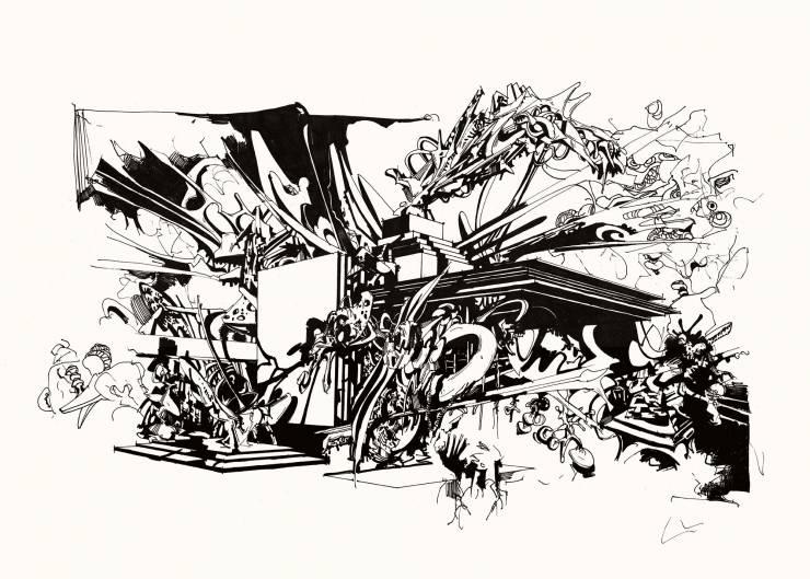 kunsttryk, gliceé, æstetiske, grafiske, monokrome, arkitektur, botanik, mønstre, sorte, hvide, blæk, papir, abstrakte-former, sort-hvide, bygninger, byer, dekorative, design, interiør, bolig-indretning, Køb original kunst og kunstplakater. Malerier, tegninger, limited edition kunsttryk & plakater af dygtige kunstnere.