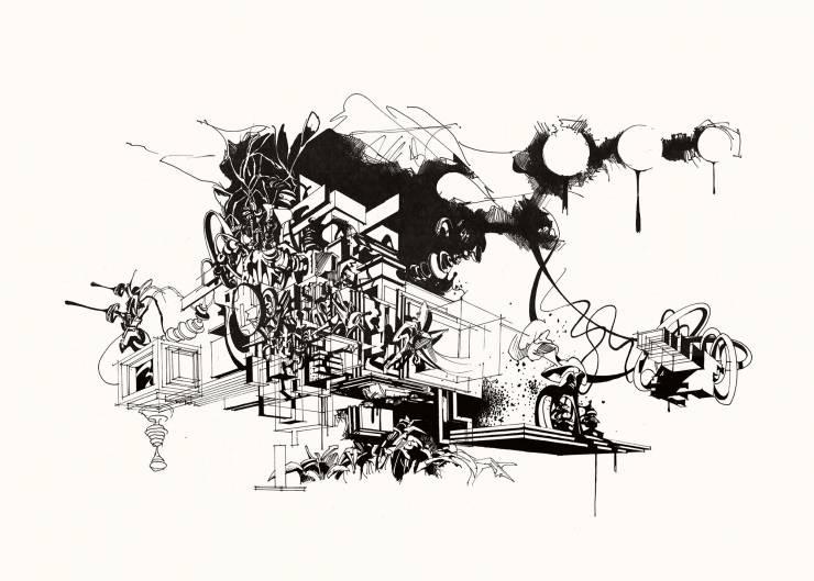 plakater, gicleé, æstetiske, geometriske, grafiske, monokrome, arkitektur, botanik, natur, mønstre, sorte, hvide, blæk, papir, abstrakte-former, arkitektoniske, sort-hvide, bygninger, samtidskunst, dansk, dekorative, design, interiør, bolig-indretning, moderne, moderne-kunst, nordisk, planter, skandinavisk, sceneri, Køb original kunst og kunstplakater. Malerier, tegninger, limited edition kunsttryk & plakater af dygtige kunstnere.