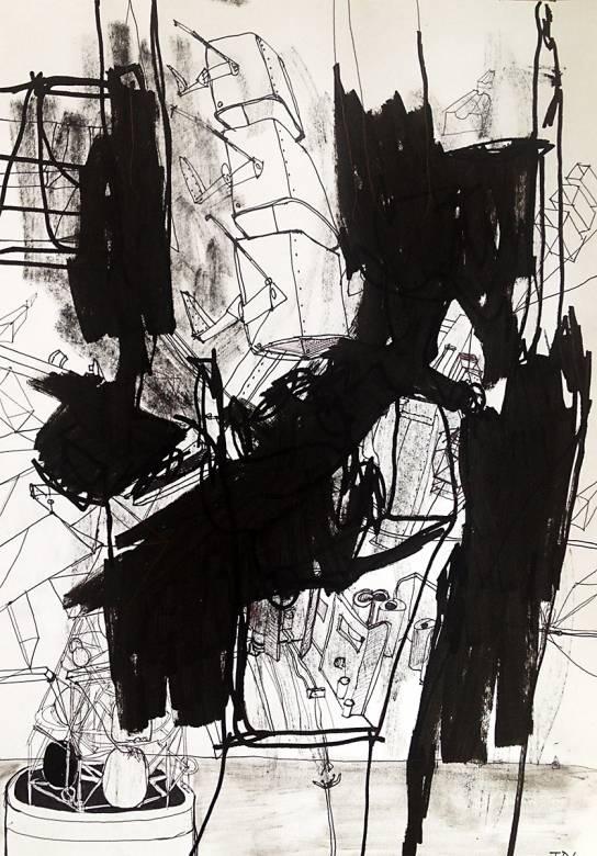 Abstrakt Kunst Til Salg apollo 6   thomas dausell   beauton art gallery