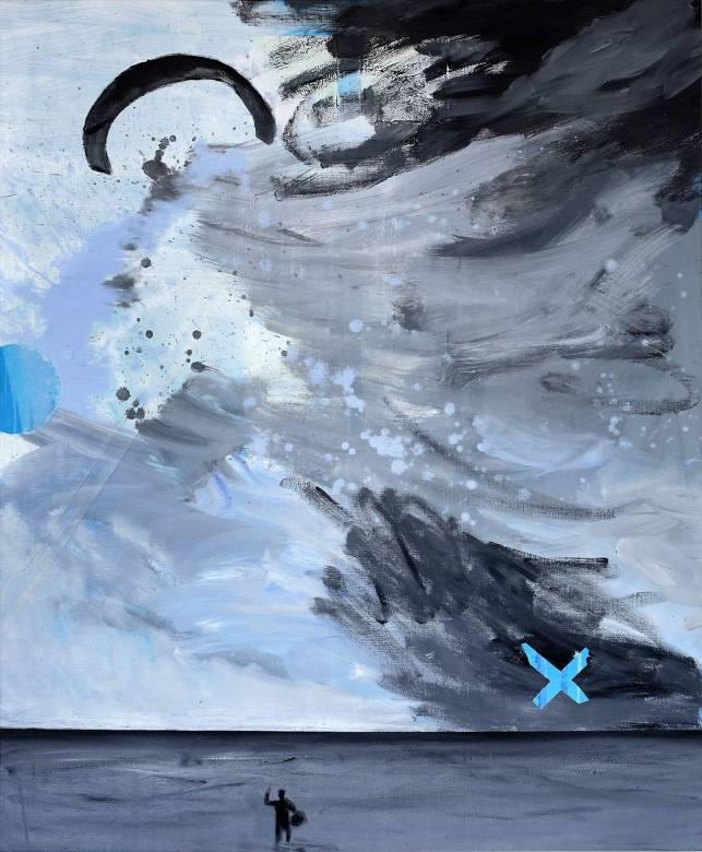 malerier, abstrakte, figurative, landskab, portræt, kroppe, natur, årstider, himmel, sorte, blå, grå,  bomuldslærred, olie, abstrakte-former, strand, mænd, sceneri, levende, Køb original kunst af den højeste kvalitet. Malerier, tegninger, limited edition kunsttryk & plakater af dygtige kunstnere.