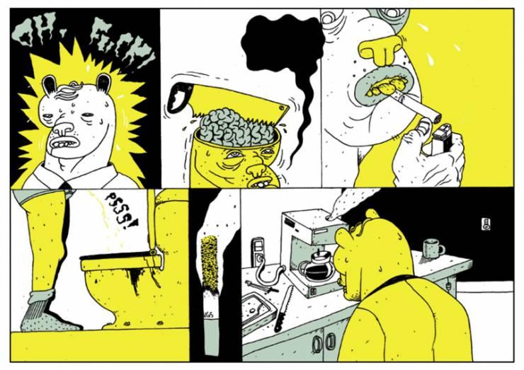 Tegneserie tegninger